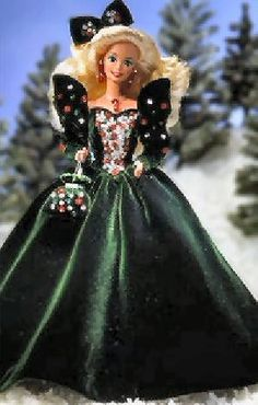 happy holiday barbie 1991