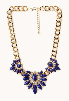 Regal Curb Chain Necklace | FOREVER21 - 1000089418