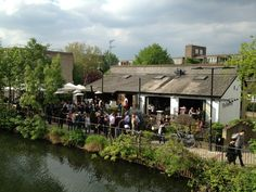 Spectacular views match the vibrant cooking in this chic but comfy eatery - The Waterway in Maida Vale, Greater London Warwick Avenue, Riverside Restaurant, Maida Vale, Greater London, London Restaurants, London Photos, London Calling, West End, Westminster