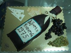 "cake Photo 1 of 19: Cheese and Wine Party / Birthday ""Man´s 36th Birthday"" 
