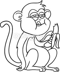 318 best monkeys images in 2019 monkeys mammals primates Southeast Asia Wetlands monkey eating banana cartoon 68535 tweb