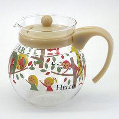 cute fall tea pot