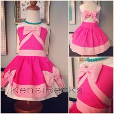 Pink Princess Birthday Cinderella Mouse Dress Disney Inspired by KensiBecks on Etsy https://www.etsy.com/listing/203816069/pink-princess-birthday-cinderella-mouse