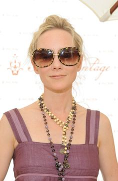 Actress, Anne Heche (from Six Days, Seven nights - alongside Harrison Ford) sports a Saint Vintage Love Strand.