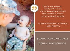 Protect your loved ones. Fight climate change.