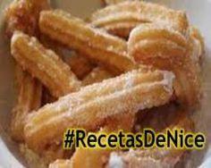 Receta Gratis Para Hacer Churros Caseros #Recetasdenice. @RecetasDeNice…