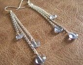 Swinging Iolite Earrings. Light, fun, and very sexy!