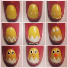 Spring nails!!! So cute!!