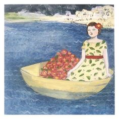 fine art print  mary sailed away from home in a by thisisalliknow, $45.00/ in Etsy
