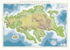 De Belevingswereld kaart