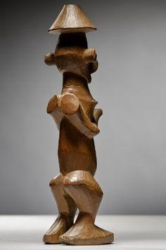 Lot n°108  Yaka Figure Belgium, Nativity, Fountain, Auction, Statue, Congo, Outdoor Decor, Home Decor, Collection