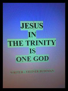 Angel Publisher: Book : Jesus in the Trinity is One God.