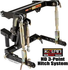 Kolpin DirtWorks 3-Point Hitch System