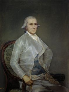 "Francisco de Goya: ""El pintor Francisco Bayeu"". Oil on canvas, 112 x 84 cm, 1795. Museo Nacional del Prado, Madrid, Spain"