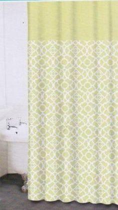 Waverly Lovely Lattice, Waverly Fabric Shower Curtain