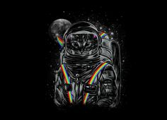 Check out the design Space Mission by Dan Elijah G. Fajardo available on Men's T-Shirt on Threadless Wallpaper Gatos, Cat Wallpaper, Lock Screen Wallpaper, Tumblr Wallpaper, Art Of Dan, Arte Alien, Wallpaper Animes, Space Grunge, Kunst Poster