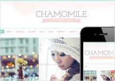 Chamomile WordPress Theme by Bluchic