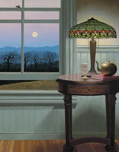 "Edward Gordon ~ ""April Evening"""