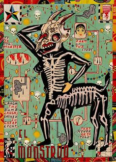 The Chihuahua Monster. Tony Fitzpatrick