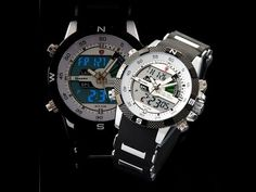 SHARK Porbeagle Analog Dual Time Date Day Alarm  Wrist Military Mens Sports Watch / SH041 Review