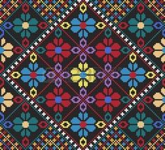 Find Vector Ukrainian Ethnic Seamless Ornament stock images in HD and millions of other royalty-free stock photos, illustrations and vectors in the Shutterstock collection. Cross Stitch Borders, Cross Stitch Charts, Cross Stitching, Cross Stitch Embroidery, Cross Stitch Patterns, Beading Patterns, Embroidery Patterns, Graph Paper Art, Palestinian Embroidery