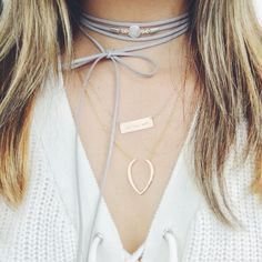 Handmade, made-to-order, one-of-a-kind bolo. Youve seen these necklaces on your favorite instagram blogger or fashion icon because, well, they are SO DAMN CUTE. And my mission is to make quality trendy pieces at an affordable price so that EVERYONE and ANYONE can rock this look. Buy one for a friend. Heck, at these prices you can buy one for everyone in your #girlsquad!  Choose faux suede cord color.  Choose moonstone metal color.  Option to add mini gold plated circles to each cord end…