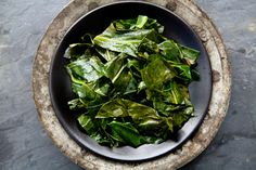 Kale & Turnip Greens with Garlic & Onions