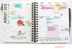 Pop Art Planner - August 2015 by amytangerine at @studio_calico