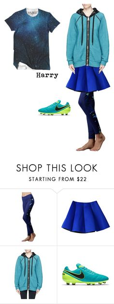 Harry by chaotic-leppy-tracy on Polyvore featuring No Ka'Oi, Zobha and NIKE
