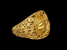 Roman Gold Eros Ring, 1st Century ADEros, (Roman Cupid), was regarded as the deity who awoke the passions and fostered love in the hearts of both gods and mortals. The poet Hesiod sings his praises as...