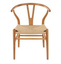 Replica Hans Wegner Wishbone Chair Premium Walnut/Oak