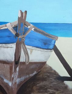 Boat Painting - Giclee Reproductoin