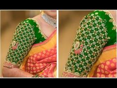 Hand Made Bridal Sleeves Heavy Work | Very Simple & Easy To Make