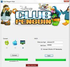 free Club Penguin Hack tool