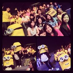 The #EmergeMINT supporters in da house! Our minions are making special appearances! ;) #Emerge2012