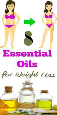 Top 8 Essential Oils For Weight Loss