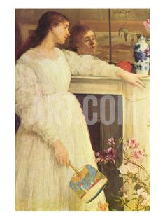 Symphony in White No. 2, Girls in White by James Abbott McNeill Whistler. Premium poster at Art.com.