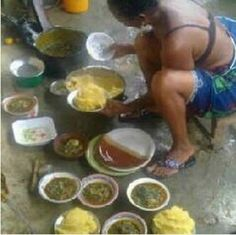 Our Nigerian Mothers, do you still do this? As a kid, this was my best period of the day in the house, when my Mum was sharing the federal allocation and excess crude account in the kitchen.
