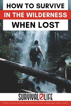 Let's examine some basic techniques to survive in the wilderness when lost. #wildernesssurvival #survival #preparedness #survivallife Survival Hacks, Survival Life, Homestead Survival, Wilderness Survival, Camping Survival, Survival Prepping, Survival Skills, I Need To Know, Things To Know