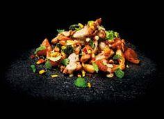 Kesäinen Kanawokki | Reseptit | Valintatalo Bbq Party, Kung Pao Chicken, Chicken Recipes, Ethnic Recipes, Food, Essen, Meals, Yemek, Eten
