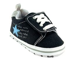 Luvable Friends Skater Sneaker Infant Blue 06 Months M US Infant >>> Find out more about the great product at the image link.Note:It is affiliate link to Amazon.