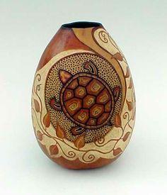 Gourd Art by Lynn Hoyt