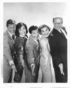 The Dick Van Dyke Show - (1961-66). Starring: Dick Van Dyke, Mary Tyler Moore, Rose Marie, Morey Amsterdam, Larry Mathews, Richard Deacon, Jerry Paris, Ann Morgan Guilbert and Joan Shawlee. Partial Guest Cast: Marty Ingels, Allan Melvin, Jamie Farr, Jackie Joseph, Burt Remsen, Alvy Moore, Bernard Fox, Frank Adamo, Gavin MacLeod, William Schallert, Jack Albertson, Danny Thomas, Vito Scotti, Richard Dawson, Denver Pyle, Ken Berry, Don Rickles, Florence Halop and Garry Marshall.