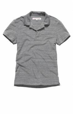 Orlebar Brown Felix riviera polo shirt Navy/Grey