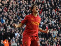 Philippe Coutinho, new player in season 2012-2013 #LFC #LFCTHAI #LIVERPOOLFC