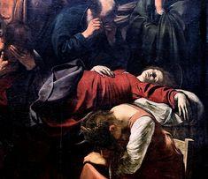 "Description of the painting by Michelangelo Merisi da Caravaggio ""Death of Mary"" Renaissance Kunst, Renaissance Paintings, Baroque Painting, Baroque Art, Italian Baroque, Italian Painters, Italian Artist, Monet, Michelangelo Caravaggio"