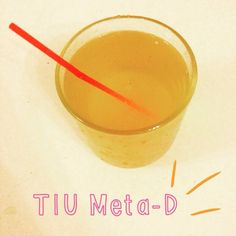 Good morning!  so so tired today! My fitbit clocks me in at 4hours 40 mins.. Yikes! Early bed for this girl tonight!  Starting the day off with a detox kick from the #TIU guides the delicious Meta-D  100ml apple juice 20ml apple cider vinegar water lemon juice & cayenne pepper  have an awesome day whenever you are!