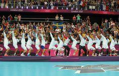 Les Experts ont conservés leur titre olympique. PHOTO STEPHANE MORTAGNE.
