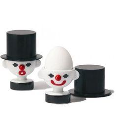 Duo de Coquetiers Clowns (PO Selected) - Achat Cadeau Cuisine - Cadeau Maestro