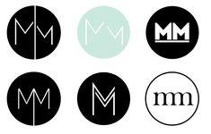 Self Branding: The Process Self Branding, Branding Design, Corporate Branding, Logo Branding, Brand Identity, Logo Marin, Rundes Logo, Mm Logo, Logo Minimalista